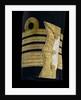 Full dress coat - cuff detail, Royal Naval uniform: pattern 1856 by Jennens
