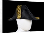 Cocked hat, Royal Naval uniform: pattern 1843 by John Adams & Son