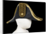 Cocked hat, Royal Naval uniform: pattern 1843-1879 by Christy's