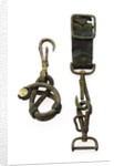 Sword belt spring hooks by unknown
