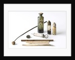 Objects from medicine chest by unknown