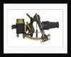 Sextant with artificial horizon by Hurlimann Ponthus & Therrode