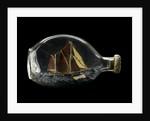 Ship model in a bottle by Dr Mark Lester