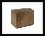 A straw work casket made by a Napoleonic prisoner of war held in England by French Armed Forces