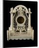A watch stand made in bone by prisoners of war confined in Norman Cross Barracks during the Napoleonic Wars by French Armed Forces