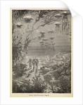 A walk under the waters' from 'Twenty Thousand Leagues Under The Sea by Alphonse-Marie-Adolphe de Neuville