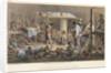 Negres a fond de Calle by Johann Moritz Rugendas
