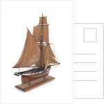 Warship (circa 1800) by unknown