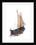 Dutch hooker, starboard stern quarter by unknown