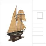 Yacht 'Flora', starboard stern quarter by unknown