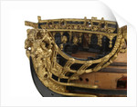Ship of 96 guns, figurehead detail by unknown