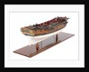 Sixth-rate sloop, starboard stern quarter by unknown