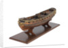 Model of a warship, sixth rate; 20-24 guns; royal/ceremonial vessel by unknown