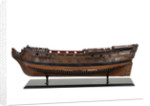 Ship of 50 guns, port broadside by unknown