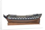 'Centurion', port broadside by unknown