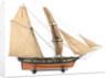 Brigantine, starboard broadside by unknown