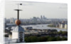 Time Ball at Royal Observatory, Greenwich and view of river Thames by National Maritime Museum