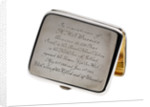 Cigarette case commemorating HMS 'Warrior' (launched 1905) by George Unite & Sons