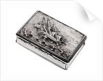 Silver snuff box presented to Thomas Burnard Chanter (1797-1874) by Thomas Edwards