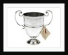 Prize cup won by the sailing barge 'Memory' in 1959 by S.S. & W Ltd.