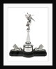 Statuette presented by HMS 'Lion' to HMS 'Indomitable' by S.S. & W Ltd.