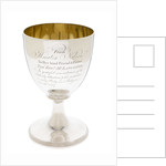 Goblet presented in 1807 by Vice-Admiral Lord Nelson's daughter Horatia Nelson (1801-81) by John Emes