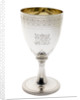 Silver goblet engraved with the arms of Vice-Admiral Lord Nelson (1758-1805) by Abraham Barrier