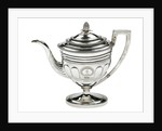 Silver coffee pot, part of a service owned by Admiral Sir John Gore (1772-1836) by Duncan Urquhart