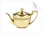 Teapot owned by Horatia Nelson (1801-81) daughter of Vice-Admiral Lord Nelson by John Emes
