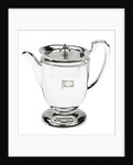 Electroplated coffee pot used on board Blue Funnel line ships by Elkington & Co. Ltd.