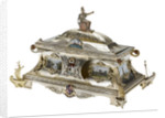 Freedom casket presented to Admiral of the Fleet Sir David Beatty, 1st Earl Beatty (1871-1936) by the City of Bristol, 23 October 1919 by T. & J. Bragg Ltd.