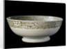 Stoneware bowl by unknown