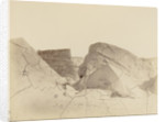 Newly formed floe-bergs, showing the old line of floatation by George White