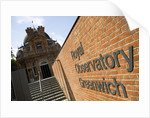 Entrance to Royal Observatory, Greenwich by National Maritime Museum Photo Studio