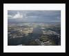 Aerial view of National Maritime Museum, Greenwich and river Thames by National Maritime Museum Photo Studio