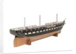 50-gun frigate HMS 'Nankin' (1850) by unknown