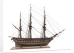 French 52-gun frigate 'Sirene' (1823) by unknown