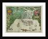 Map of Santo Domingo by Baptista Boazio