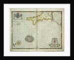 The Spanish and English fleets near Plymouth on 30 - 31 July, 1588 by Robert Adams