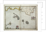 The English pursue the Spanish fleet east of Plymouth on 31 July - 1 August, 1588 by Robert Adams