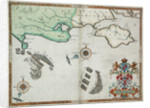 The English and Spanish fleets between Portland Bill and the Isle of Wight on 2 - 3 August 1588 by Robert Adams