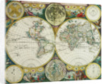 World map by John Seller, 1675 by John Seller