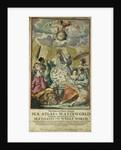 'Great and Newly Enlarged Sea Atlas' or Waterworld, 1682 by Jan Luyken