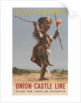 Union Castle Line Poster: 'It's Fun in South Africa' by Baynard Press