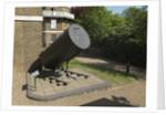 40-foot Herschelian (reflector) telescope tube remains by William Herschel