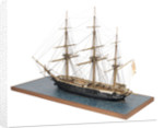 Model of 28-gun frigate HMS 'Samarang' (1822) by unknown