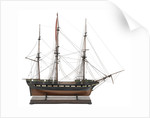 Sloop and sixth rate warship HMS 'Actaeon' (1831) 28 Guns by unknown