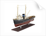 Full hull model of salvage tug 'Salvonia' (1951) by unknown