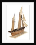Model of the fishing smack 'Authentic' by J.W. Hodgson