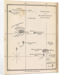 Map of Marquesas Islands from Herman Melville's 'A narrative of a four month's residence among the natives of a valley of the Marquesas Islands' (1846) by unknown